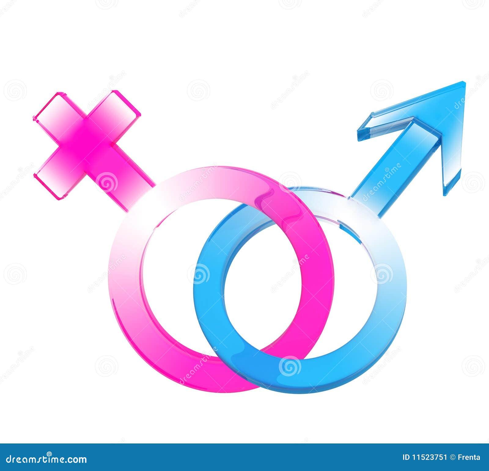 Zwei Symbole - Mann Und Frau Stockbild - Bild: 11523751