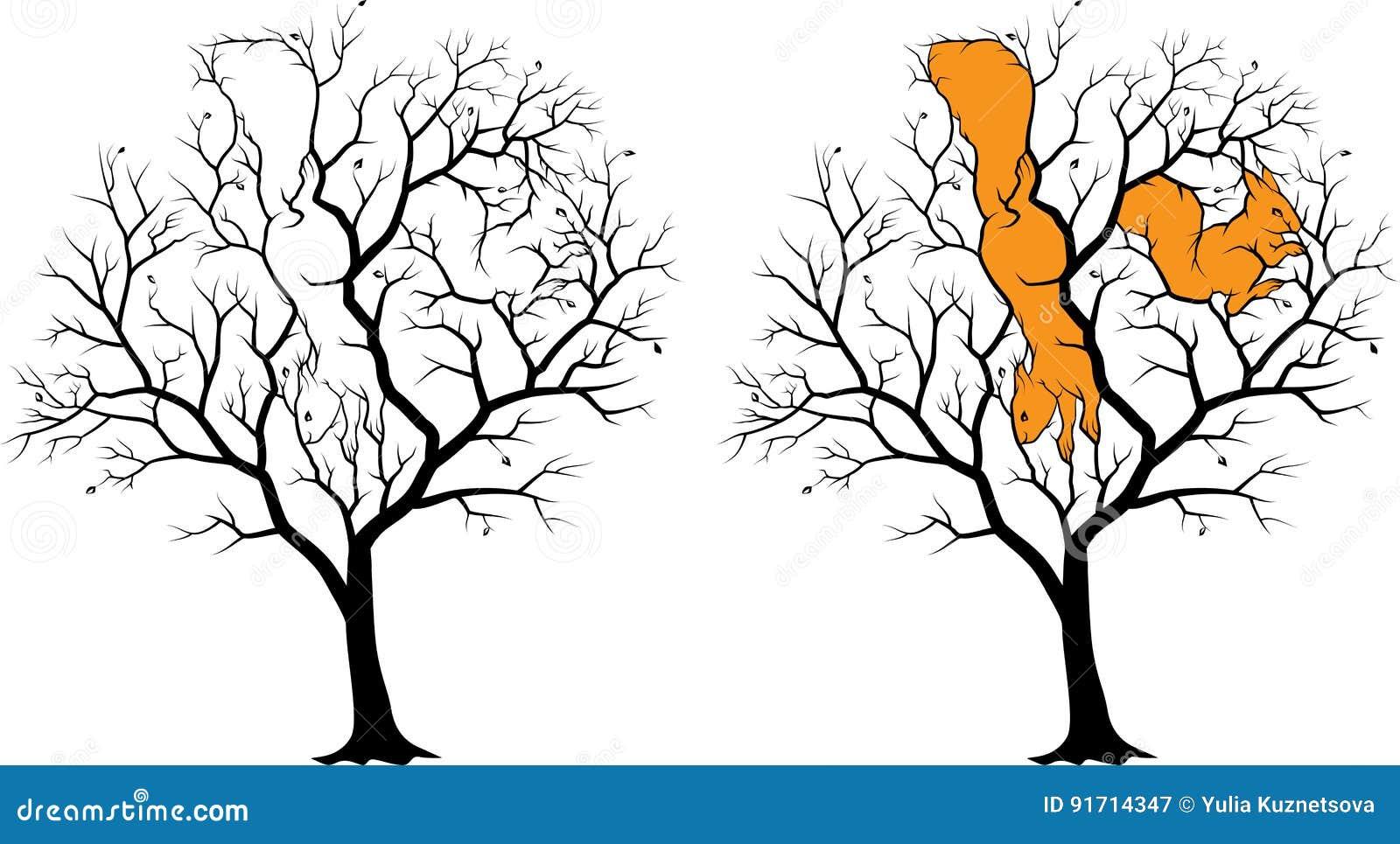 Tolle Kahler Baum Färbung Seite Ideen - Druckbare Malvorlagen ...