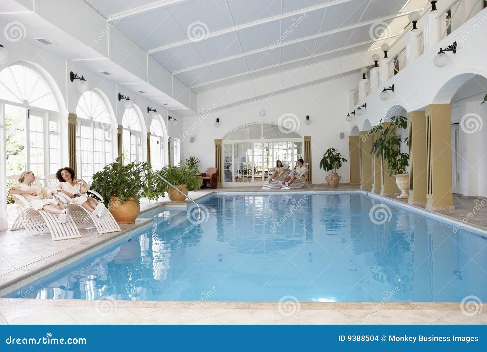 Zwembad bij Kuuroord