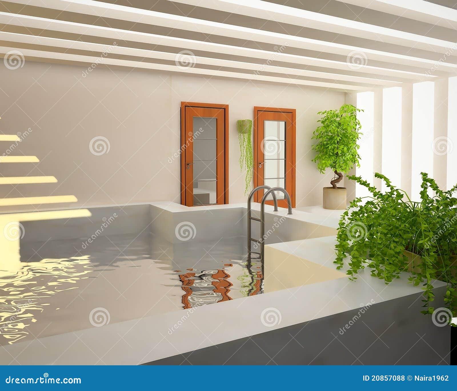 Zwembad binnen huis royalty vrije stock foto 39 s beeld 20857088 - Zwembad huis ...