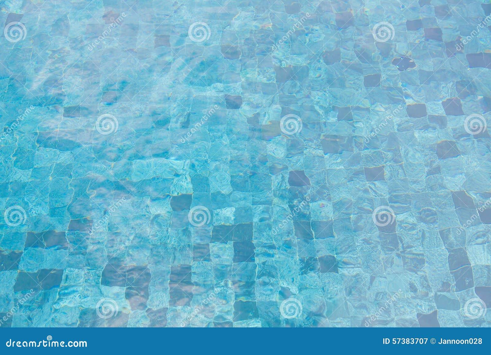 Zwembad gegolft water