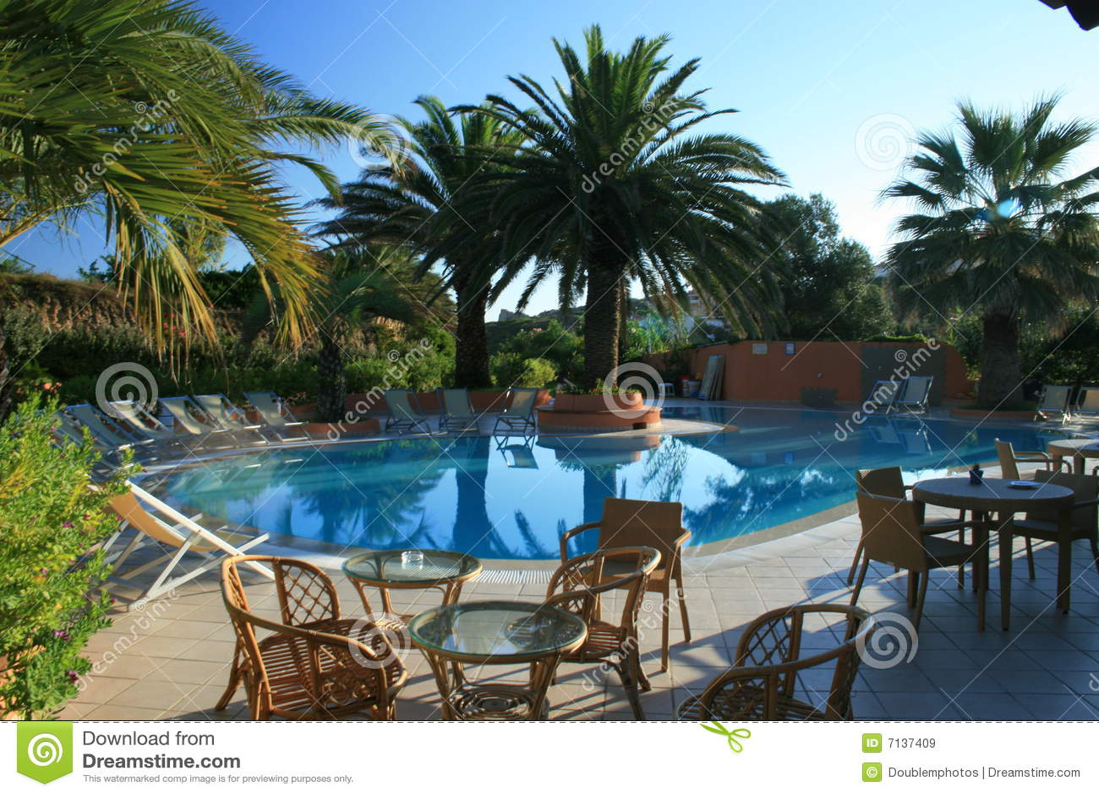 Zwembad in Sardinige