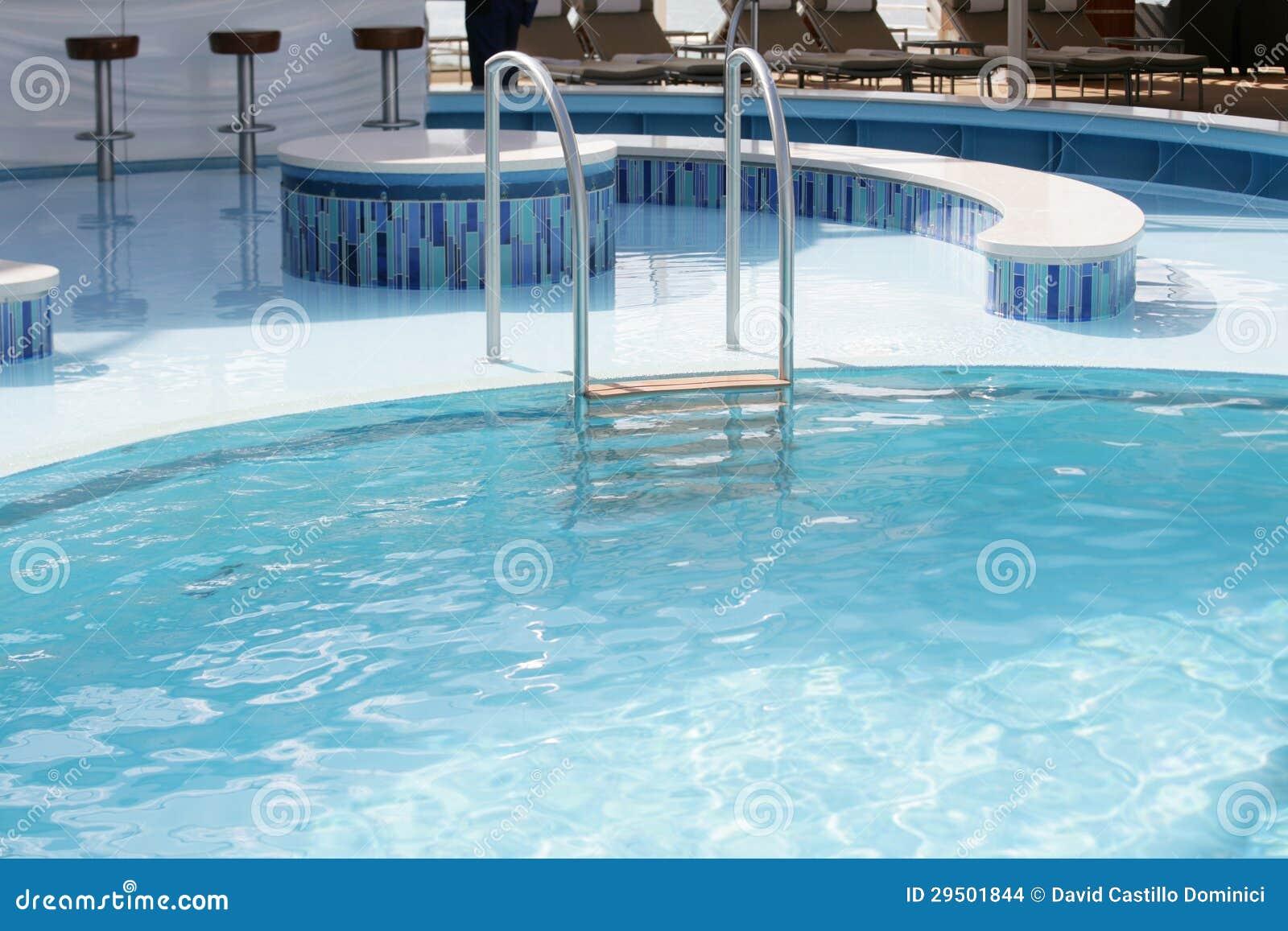 Zwembadladder