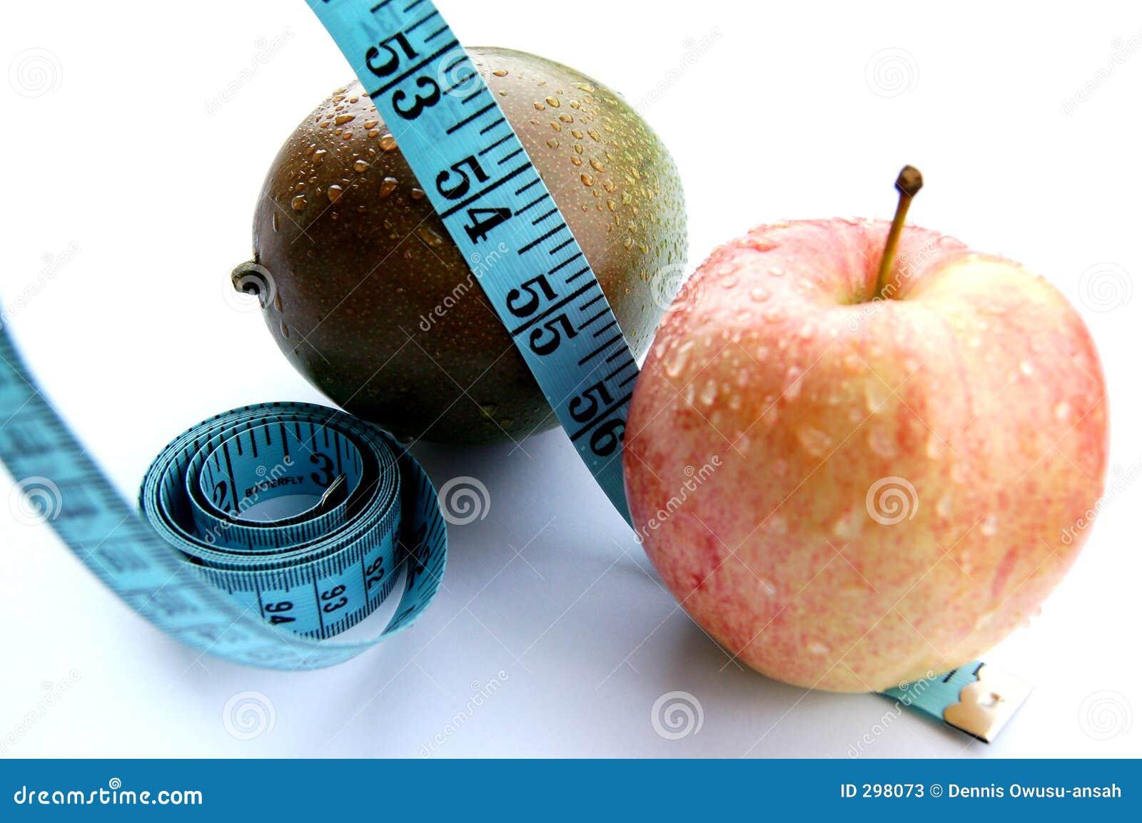 Zwetende Appel en Mango (het Op dieet zijn)