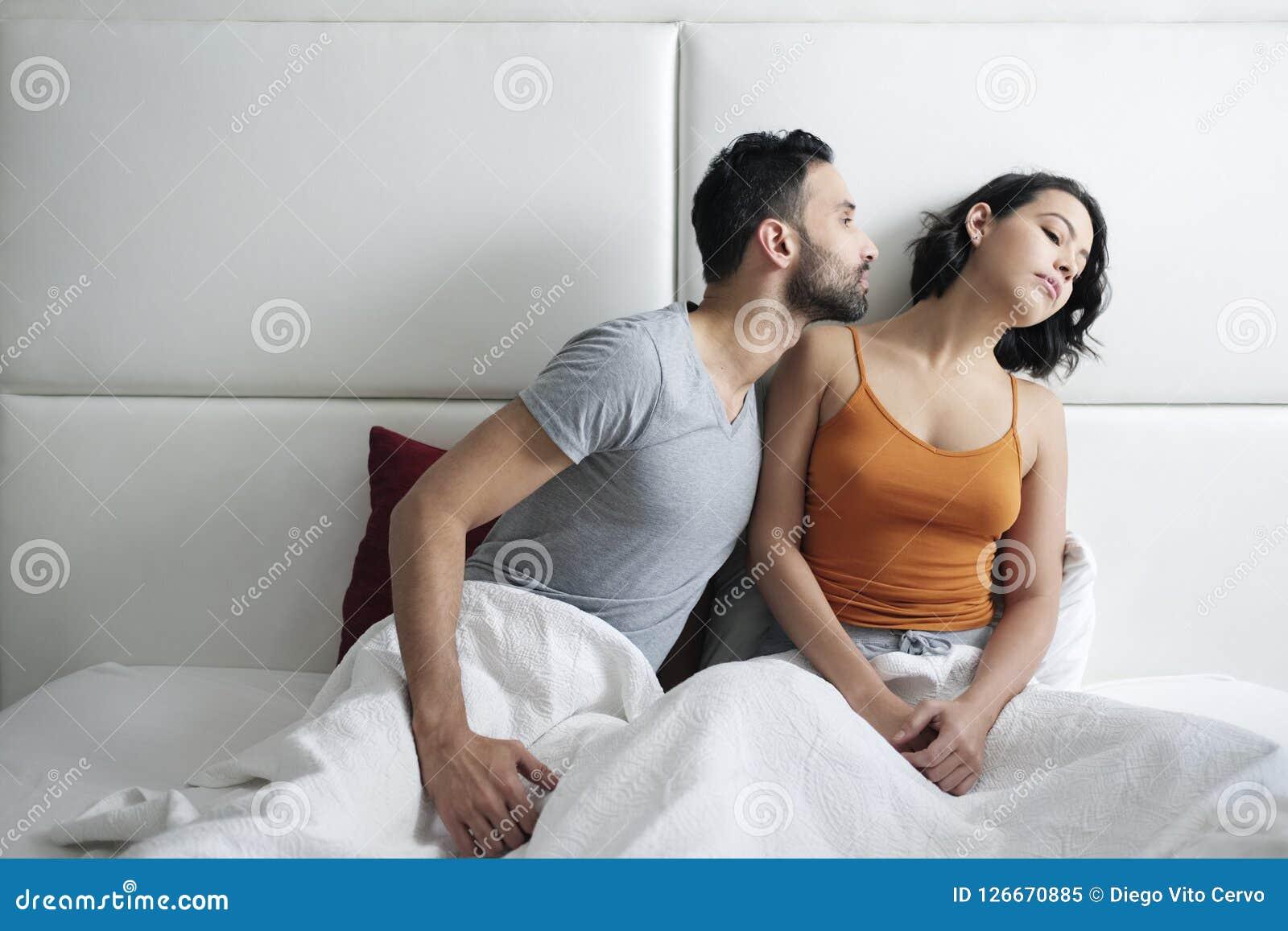 Związków problemy Z Gniewną kobietą W łóżku