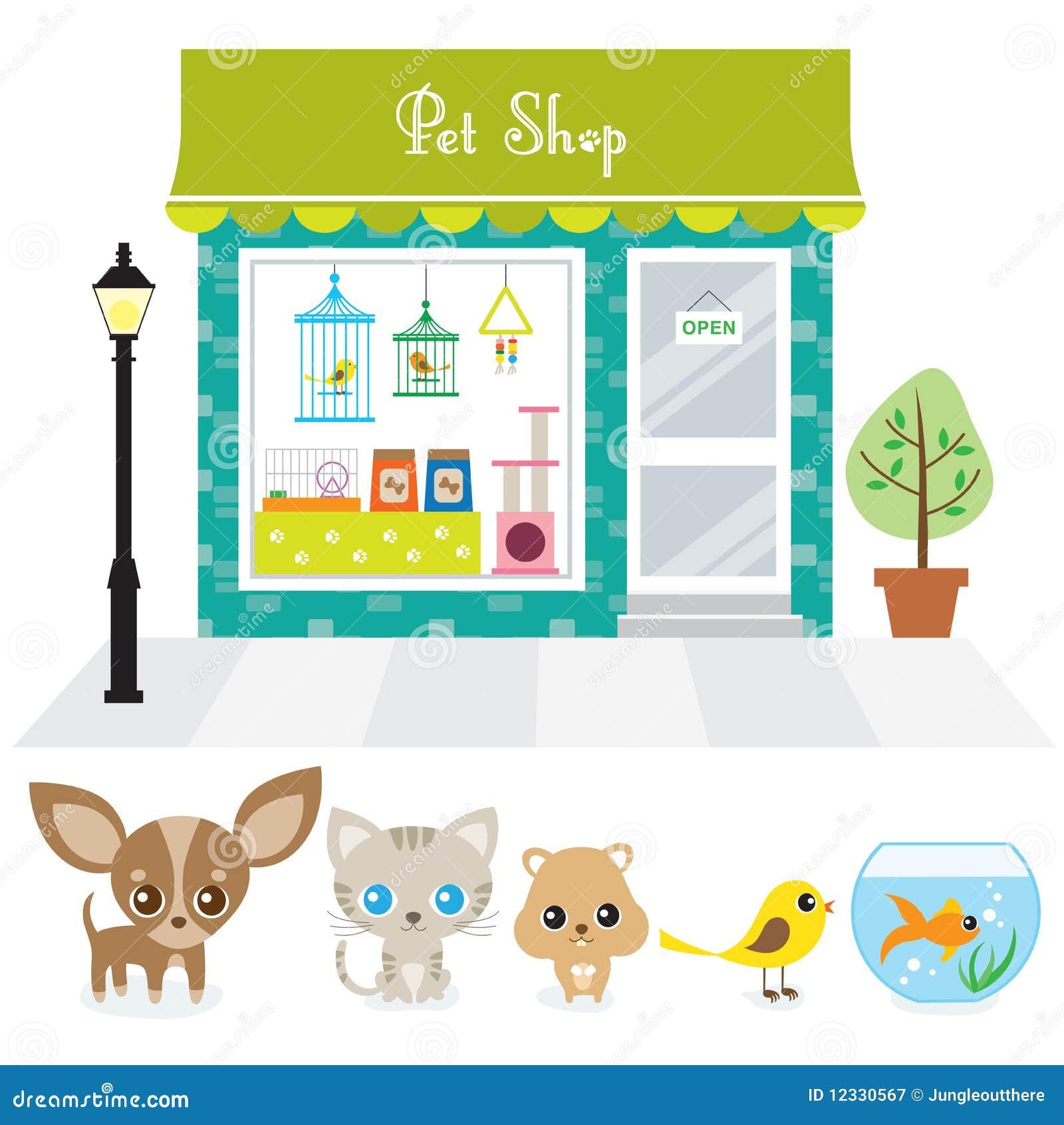 Zwierzę domowe sklep