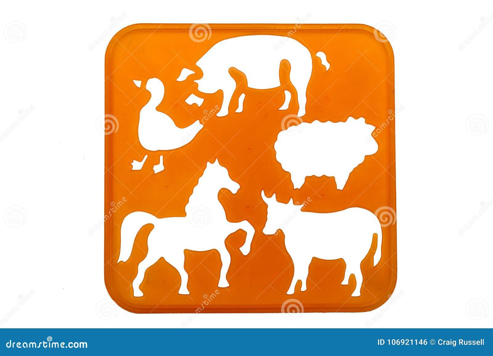 Zwierzę matrycuje kształty