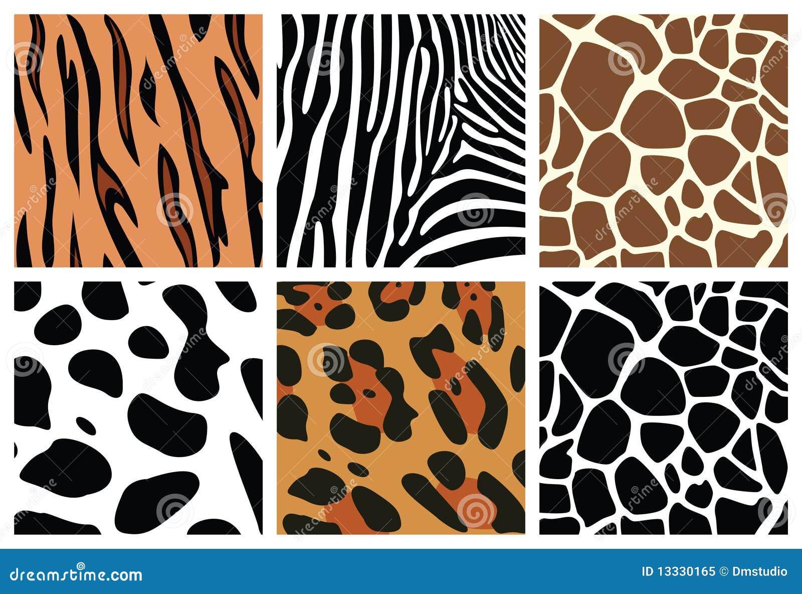 Zwierzęcej skóry tekstury