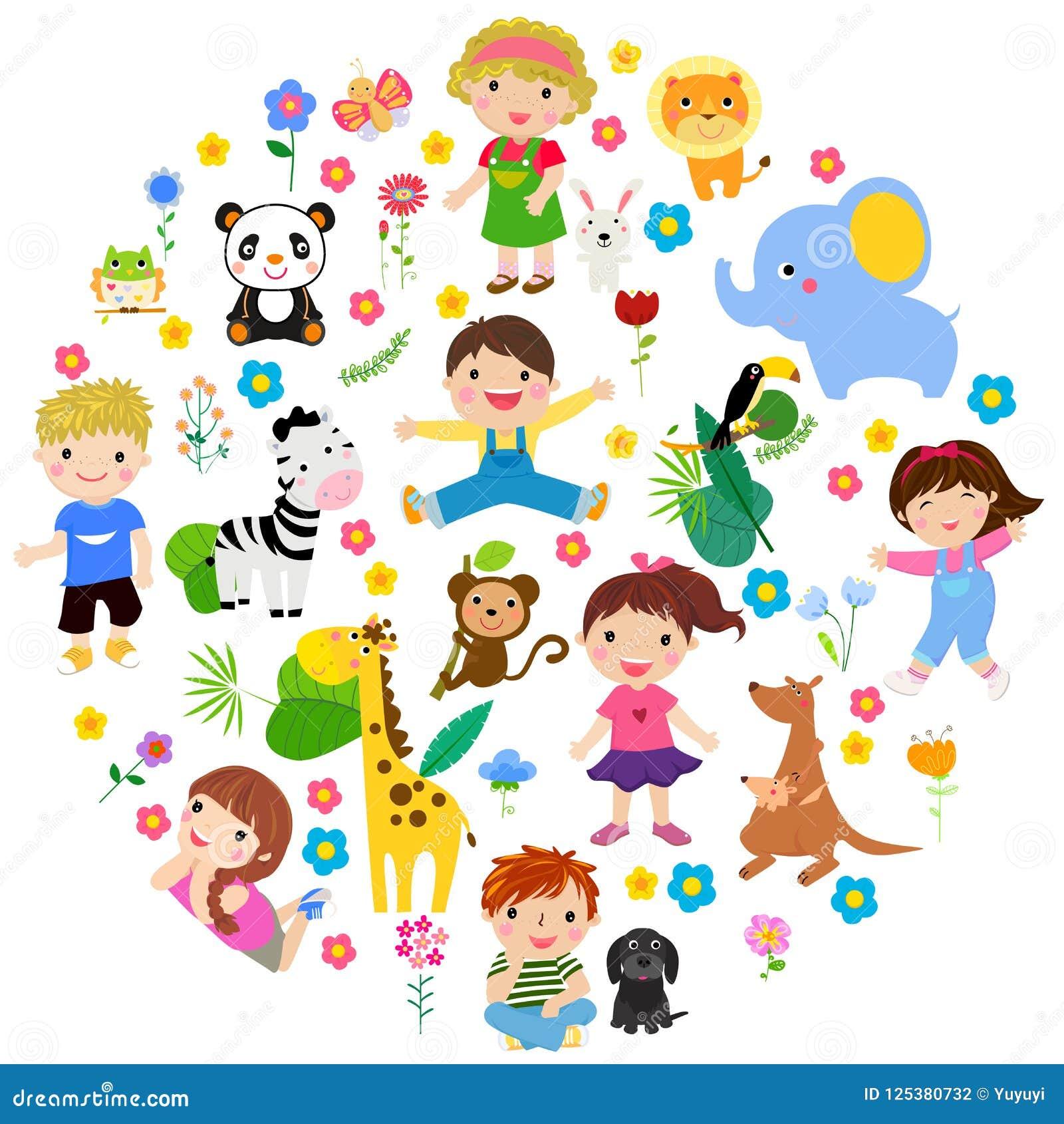 Zwierzęcy dzieciaki