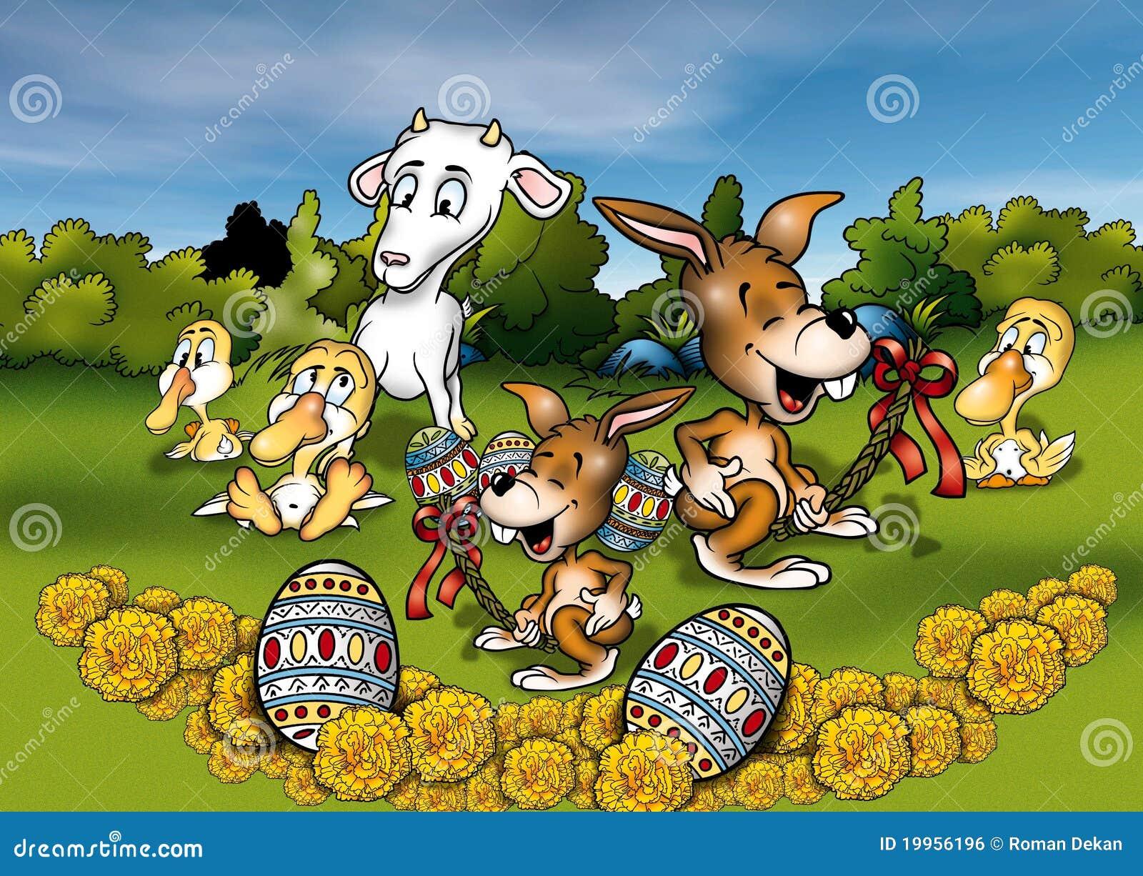 Zwierzęta Easter