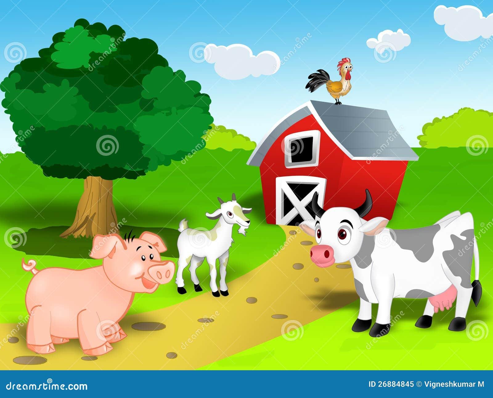 Zwierzęta gospodarskie set