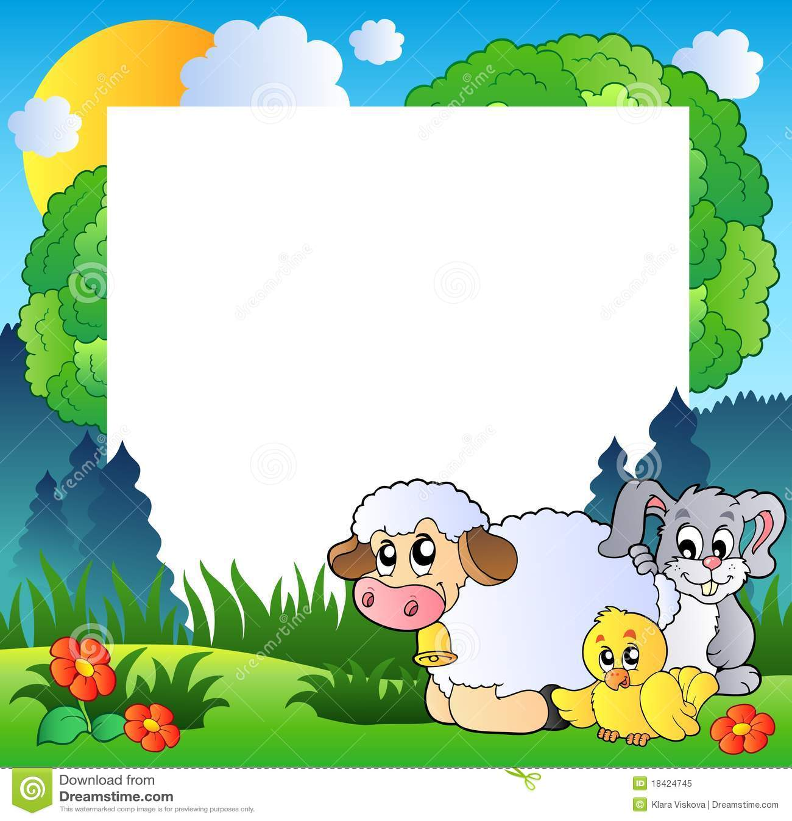 baby safari animals clip art
