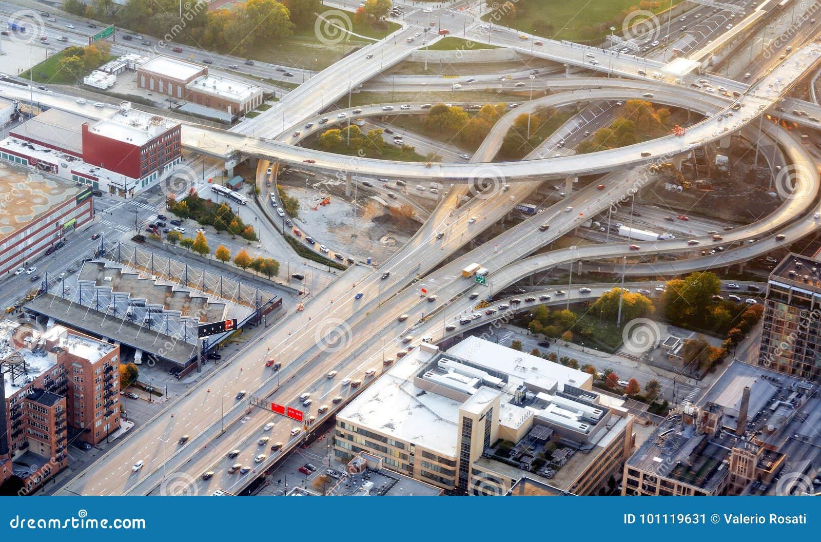 Zwischenstaatlicher Autobahnaustausch