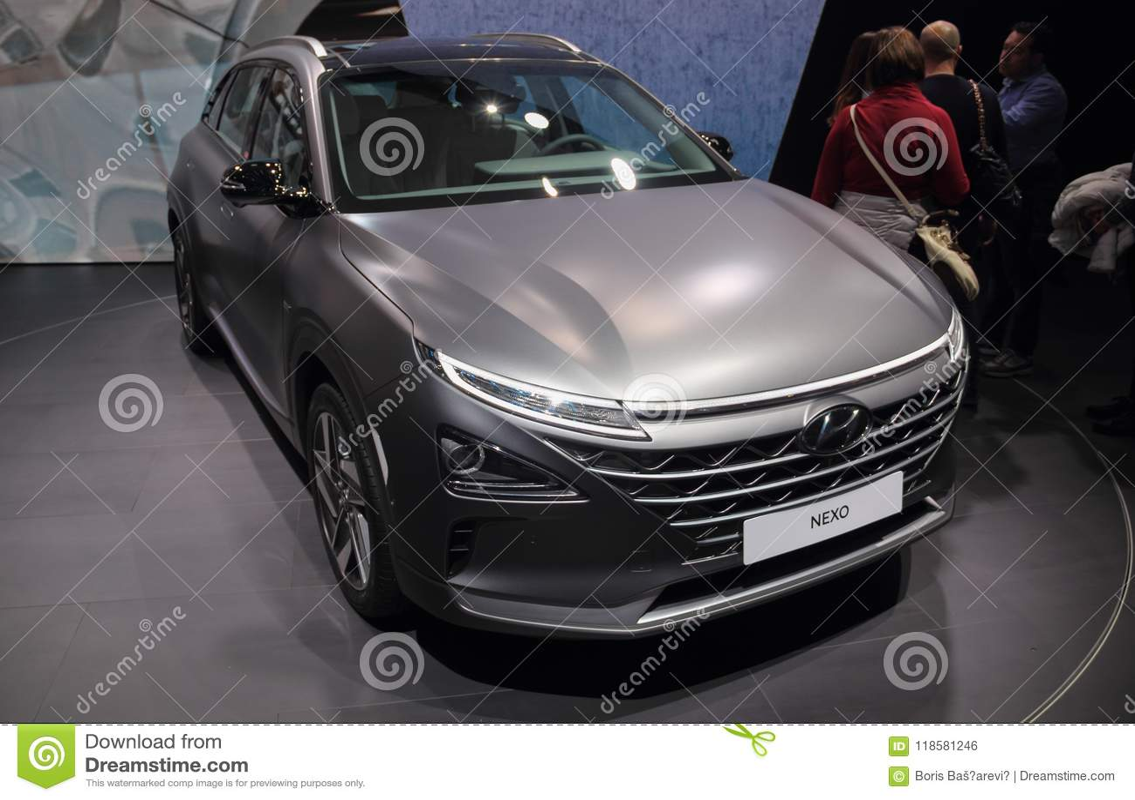 Zwitserland; Genève; 8 maart, 2018; Hyundai NEXO; 88ste Inter