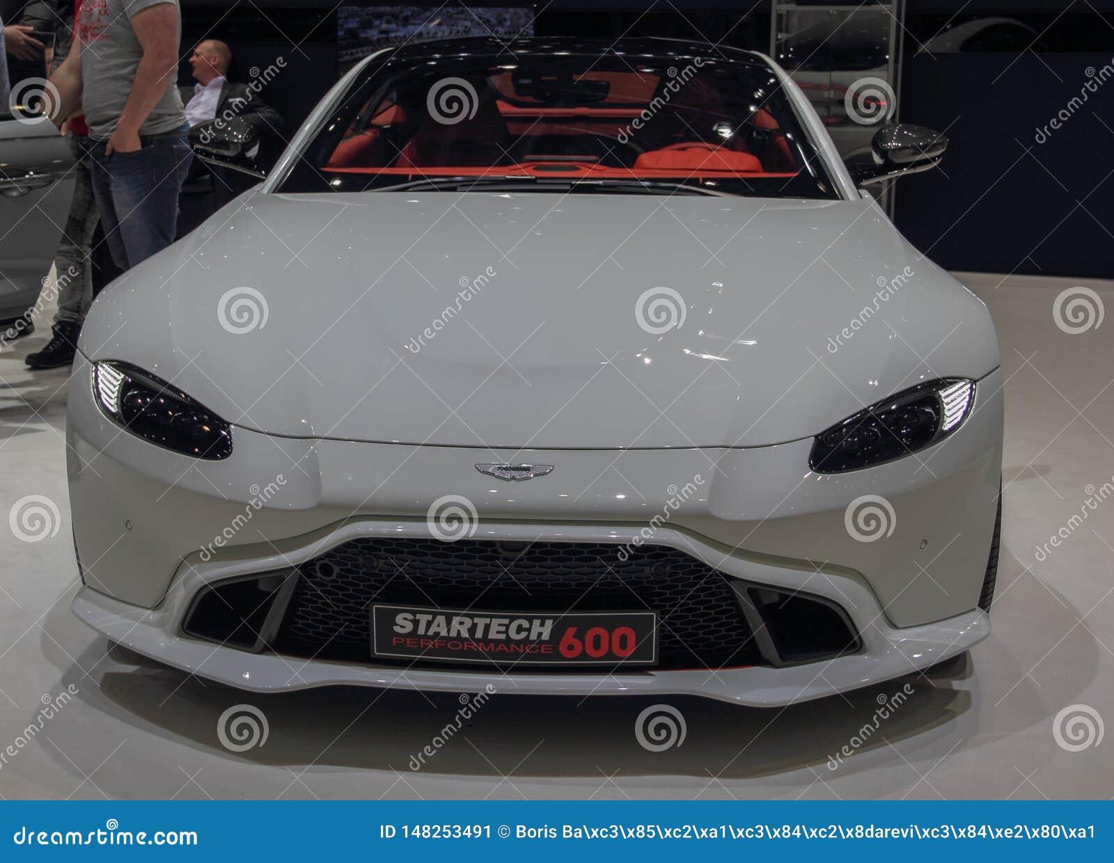 Zwitserland; Gen?ve; 9 maart, 2019; Aston Martin Startech 600; De 89ste Internationale Motorshow in Gen?ve van zevende tot zevent
