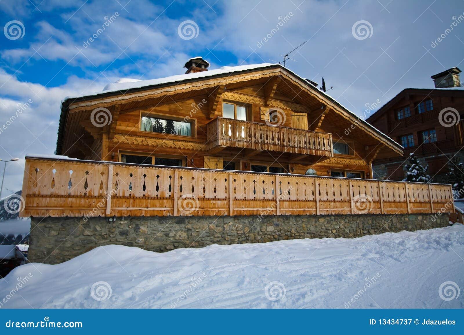 Zwitsers Alpien Chalet