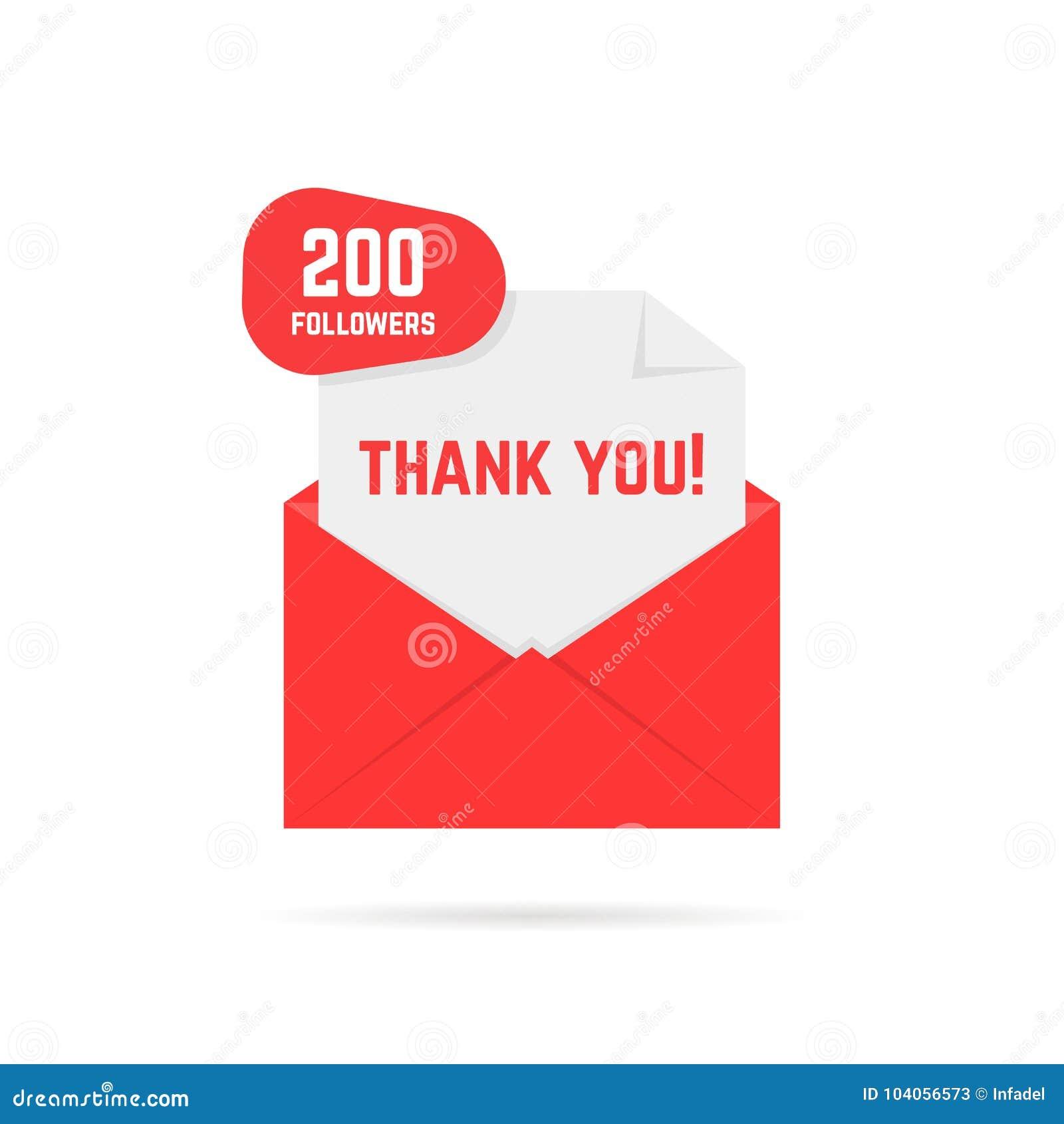 200 zwolenników dziękują was karcianych
