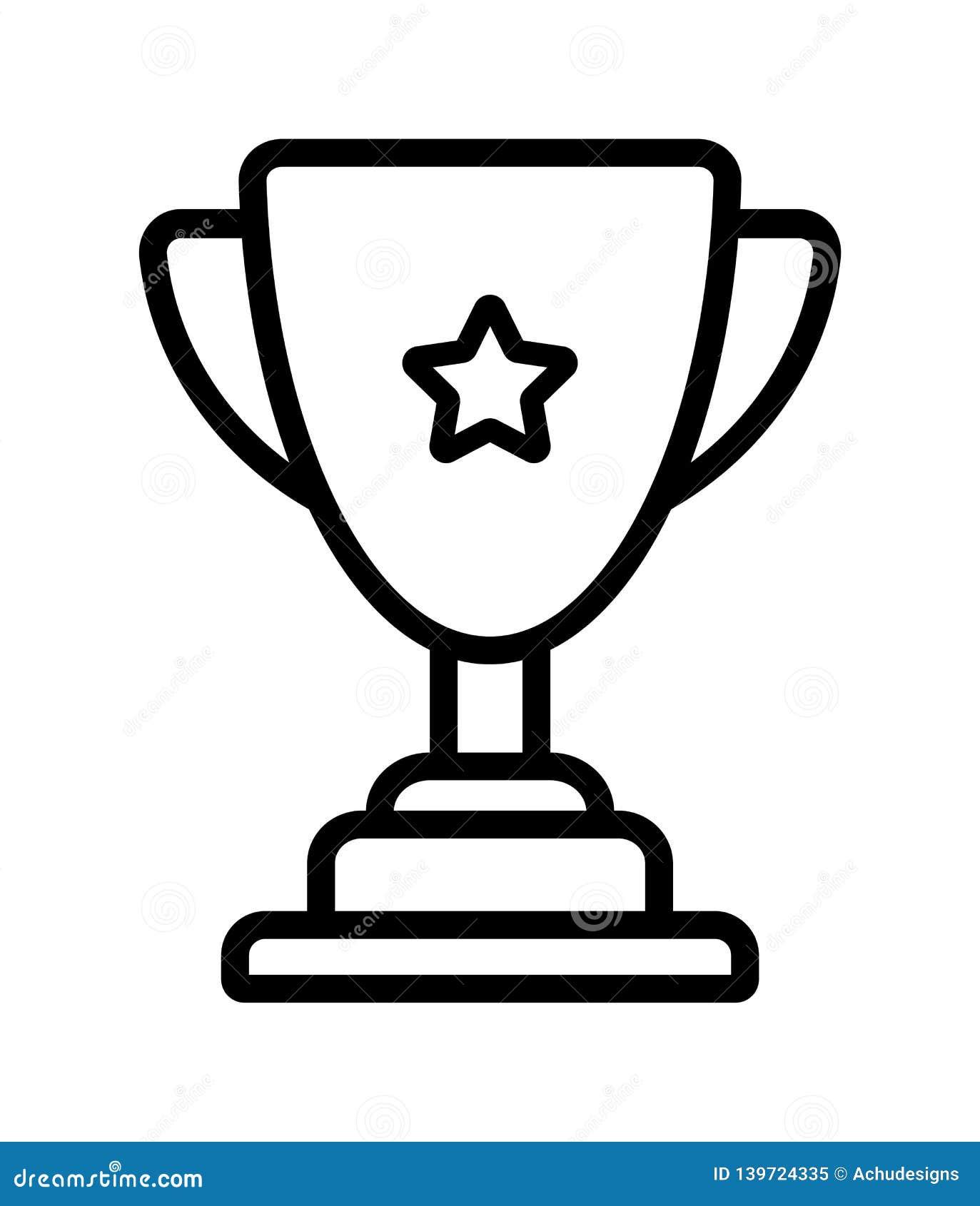 Zwycięzcy trofeum filiżanki ikona