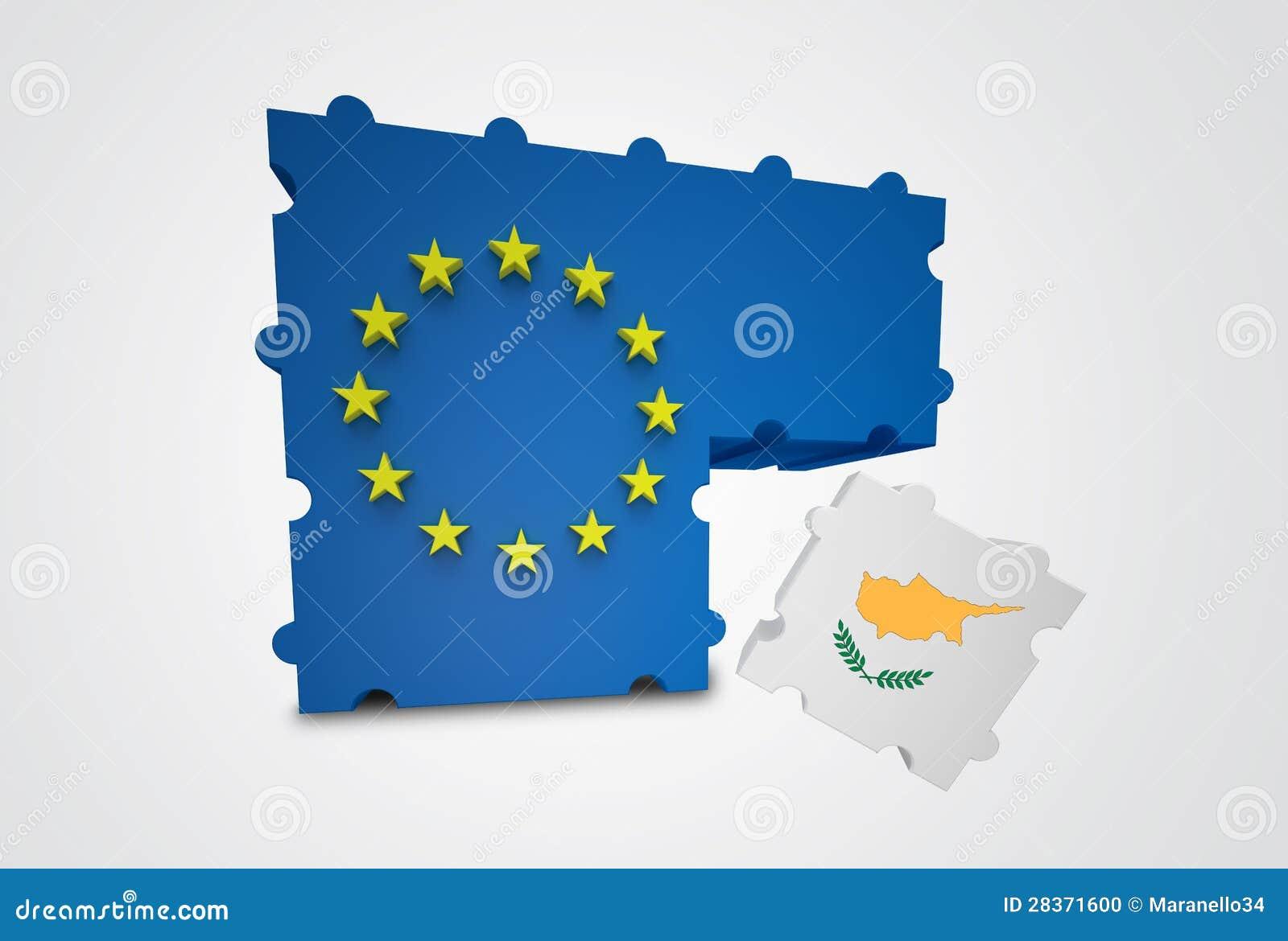 Zypern löschte von der Europäischen Gemeinschaft