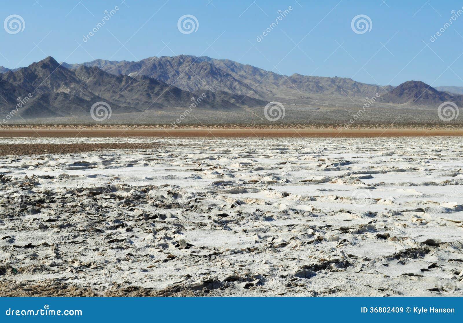 Zzyzx, lac soda, désert de Mojave